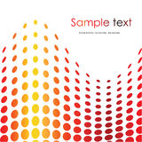 Red halftone background Stock Photos