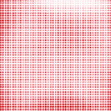 Red Halftone Royalty Free Stock Photo
