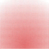 Red halftone background. Vector illustration. Stock Photos