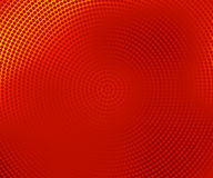 Red halftone banner Royalty Free Stock Photo