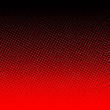 Red halftone on black background. Red dots on black background Royalty Free Stock Image