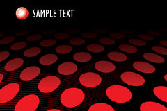 Red halftone dots Royalty Free Stock Photography