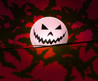 Red Halloween Background Stock Photo
