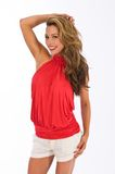 Red halter Royalty Free Stock Photo