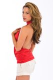 Red halter Royalty Free Stock Images