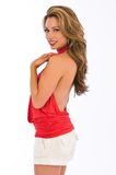 Red halter Stock Photo