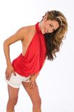 Red halter Stock Images