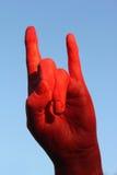 Red_hand Fotos de Stock