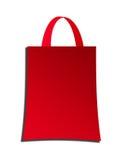 Red handbag. Over white background. isolated illustration Stock Photo