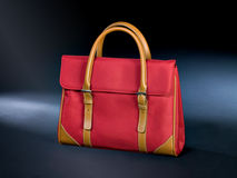 Red handbag Stock Photography