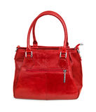 Red handbag Royalty Free Stock Photography