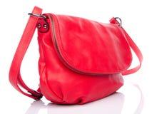 Red handbag Stock Photography