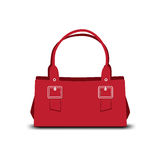 Red handbag Stock Photo