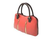 Red handbag Royalty Free Stock Photos