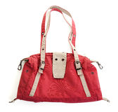 Red handbags Stock Photography