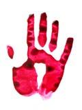 Red-handed Imagem de Stock