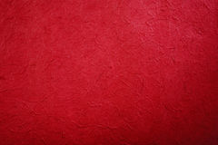 Red handmade paper Royalty Free Stock Photo