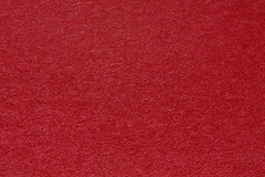 Red handmade paper texture. Royalty Free Stock Image