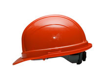 Red Hard Hat Royalty Free Stock Images
