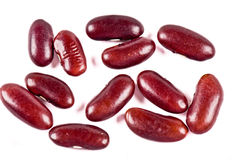 Red haricot beans Royalty Free Stock Image