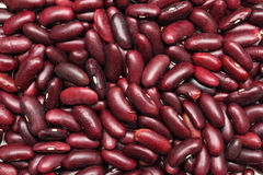 Red haricot beans background Royalty Free Stock Photo
