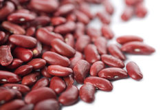 Red haricot beans isolated Stock Photos