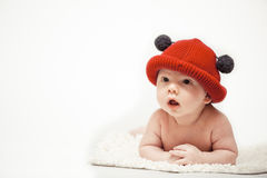 The red hat Royalty Free Stock Photography