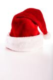 Red hat. Red santa hat on white background Stock Photography