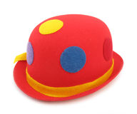 Red hat funny Royalty Free Stock Image