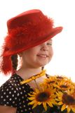 Red Hat Girl Royalty Free Stock Photo