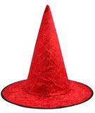 Red hat. Isolate on a white background Royalty Free Stock Photo