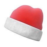Red Hat isolou-se no fundo branco Fotografia de Stock