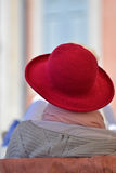 The red hat Stock Photography