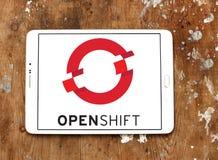 Red Hat OpenShift plattformlogo Arkivfoto