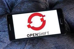 Red Hat OpenShift plattformlogo Royaltyfria Foton