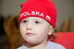 Red Hat - Polska Royalty Free Stock Photo