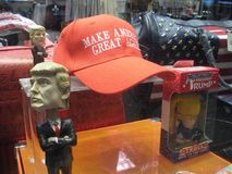 Free Red Hat, Trump Souvenirs, Make America Great Again Royalty Free Stock Image - 109689186