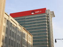 Red Hat World Headquarters Stock Photos