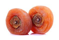 Red hawthorn fruit stock image