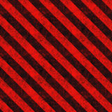 Red Hazard Stripes Stock Photography