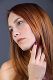 Red Head Royalty Free Stock Photos