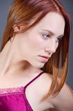 Red Head Stock Image
