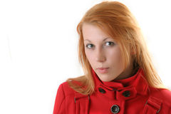 Red head Royalty Free Stock Images