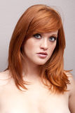 Red head girl Royalty Free Stock Photo