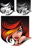 Red head woman Stock Photography