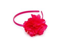 Red Headband Hair Royalty Free Stock Photos