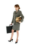 Red Headed Business Woman Royalty Free Stock Image