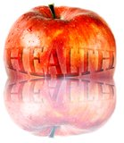 Red Healthy Apple Royalty Free Stock Images