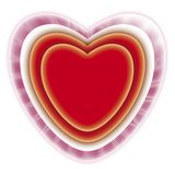Red heart 01 Royalty Free Stock Photo