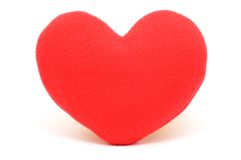 Red heart. Stock Images